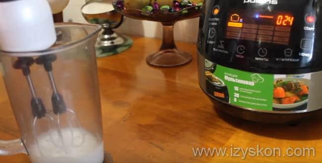 Готовим глазурь для кулича в мультиварке