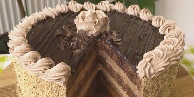 Готовим изысканный крем для торта Прага с пошаговыми фото и видео.