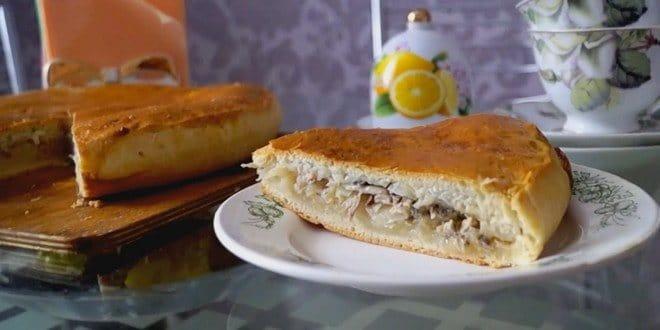 Постный пирог с капустой без дрожжей: пошаговый рецепт