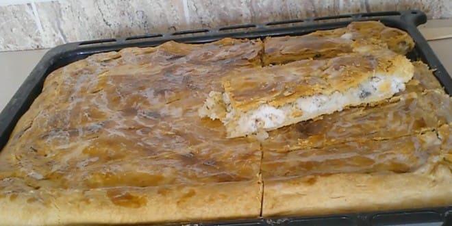 Пошаговый рецепт пирога с рыбой и рисом
