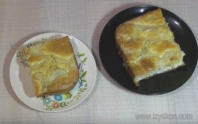 Заливной пирог с мясом - это вкуснейшее самостоятельное блюдо.