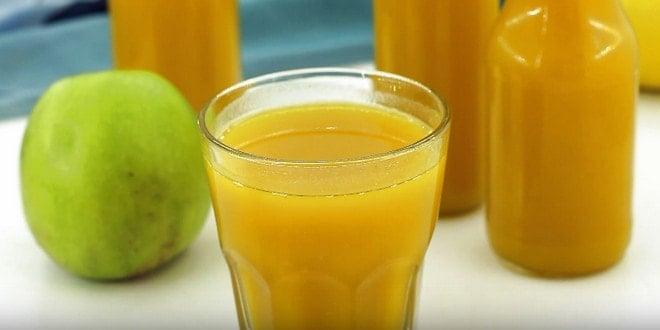 Свежевыжатый сок тыквы