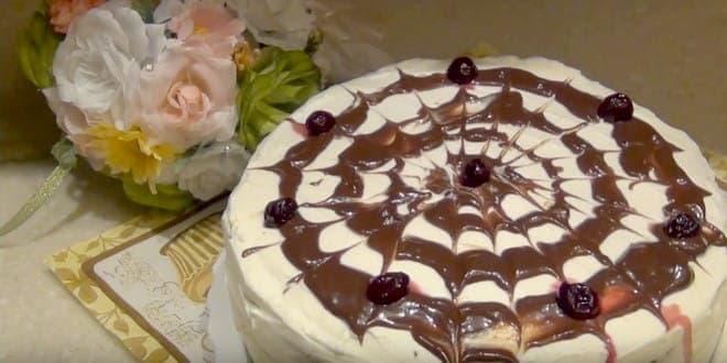 торт зимняя вишня рецепт с фото как в магазине