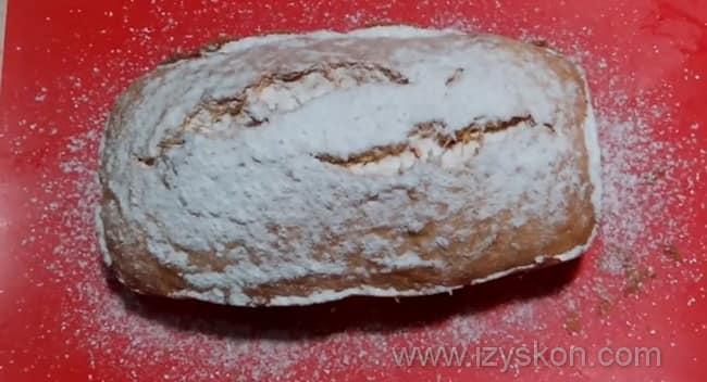 Вот такой кекс из тыквы мы испекли в духовке