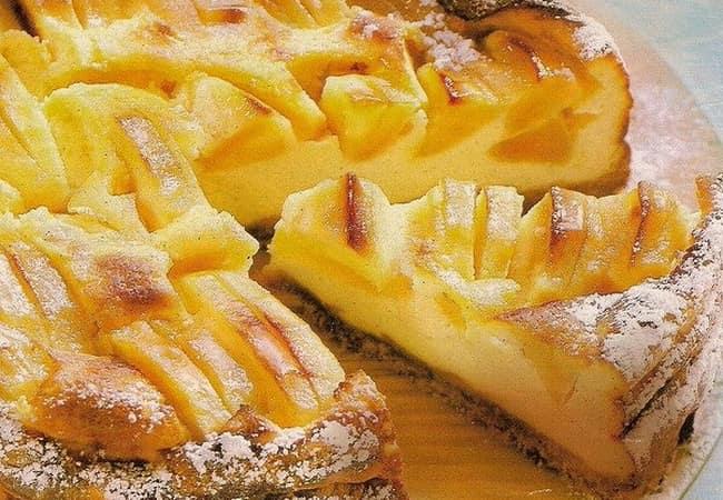 Песочное тесто для яблочного пирога рецепт пошагово