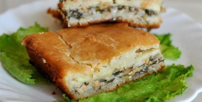 Пирог из сайры с картошкой пошаговый рецепт 32