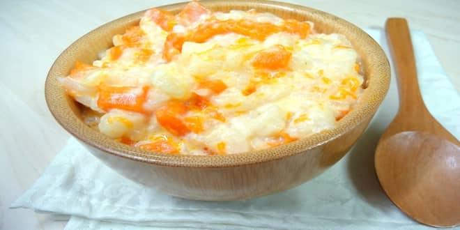 Пошаговый рецепт Рисовой каши с тыквой в мультиварке