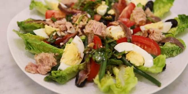 Салат с тунцом пошаговый рецепт с фото