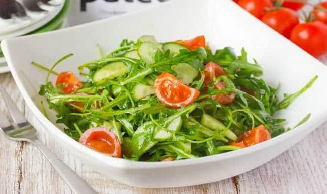 Как сделать салат с рукколой по пошаговому рецепту с фото