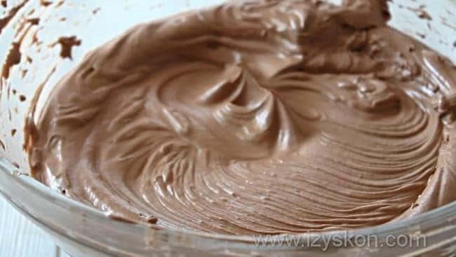 Наш шоколадный крем для приготовления самых вкусных капкейков готов