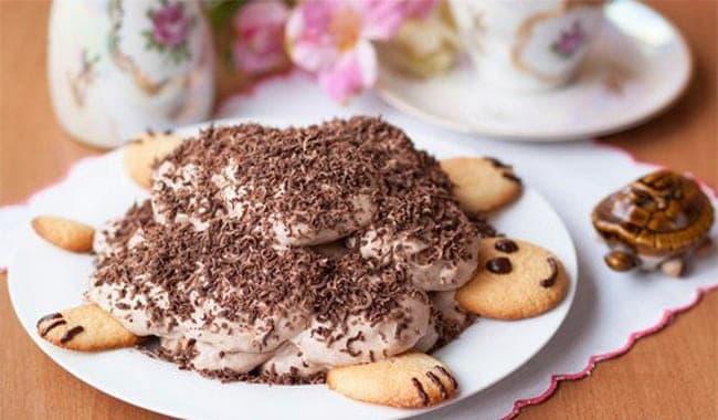 Как приготовить торт Черепаха по классическому пошаговому рецепту с фото