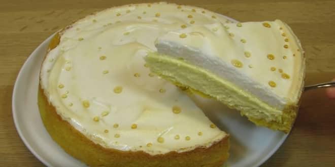 Торт с творогом рецепт в духовке
