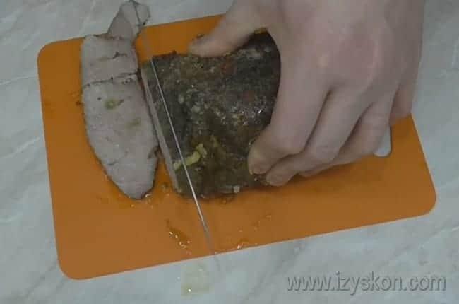 Вкуснейшее мясо можно подавать на стол.