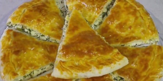 Как приготовить хачапури с сыром из слоеного теста по пошаговому рецепту с фото