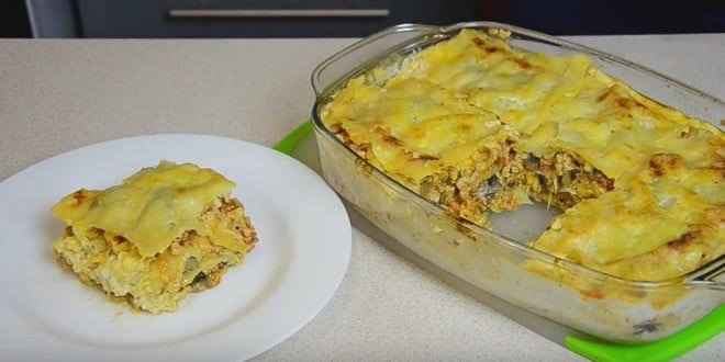 Лазанья с фаршем рецепт с рецепт пошаговый 62