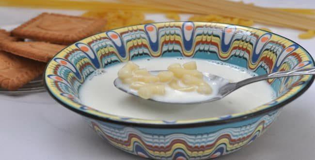 Как приготовить вкусный молочный суп