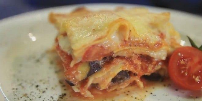 Пошаговый рецепт приготовления овощной лазаньи