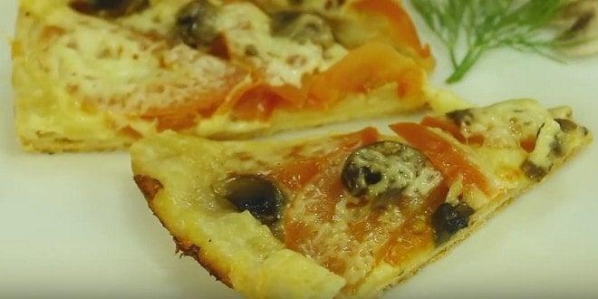 Пошаговый рецепт приготовления пиццы в мультиварке