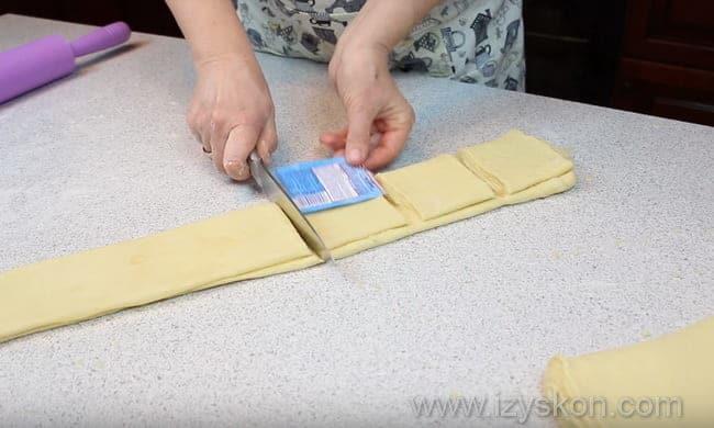 как правильно сделать булочки из слоеного теста по подробному рецепту
