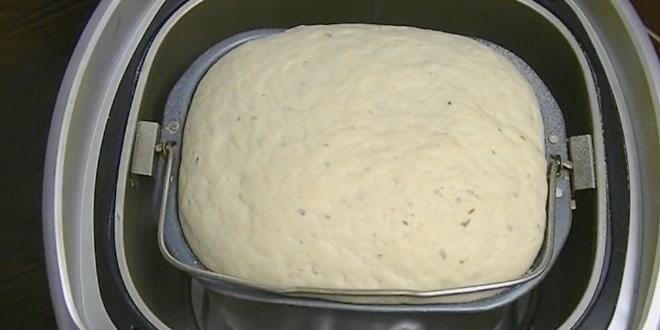 Тесто для пиццы в хлебопечке мулинекс рецепт