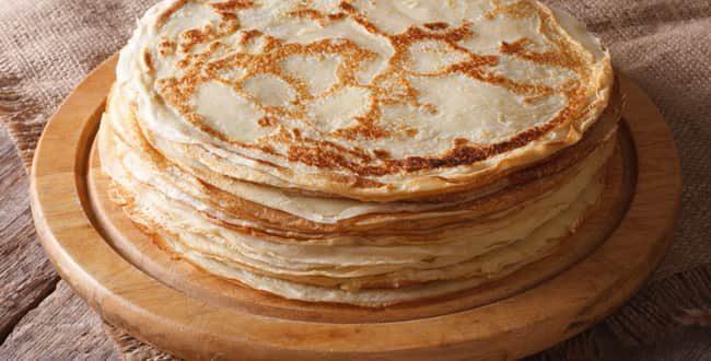 Пошаговый рецепт приготовления блинов на молоке без яиц