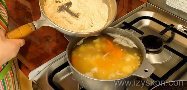 рецепт как быстро сварить горох для супа