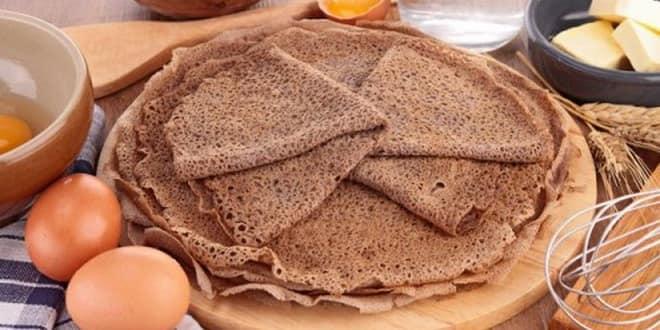 Пошаговый рецепт приготовления гречневых блинов