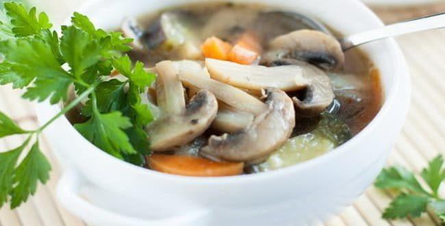Пошаговый рецепт приготовления грибного супа из шампиньонов