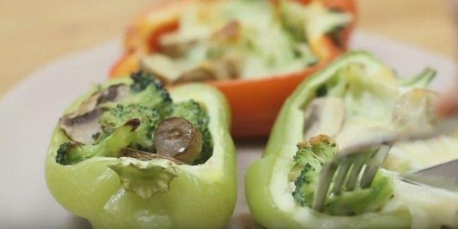 Как приготовить фаршированный овощами перец в духовке — самый вкусный рецепт с фото