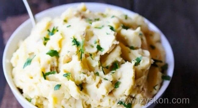 Пюре картофельное, пошаговый рецеп.