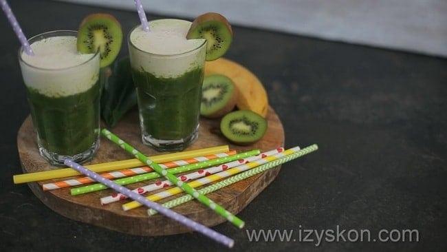 Приготовьте вкусный банановый смузи