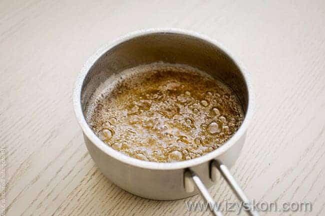 получаем сироп для приготовления компота