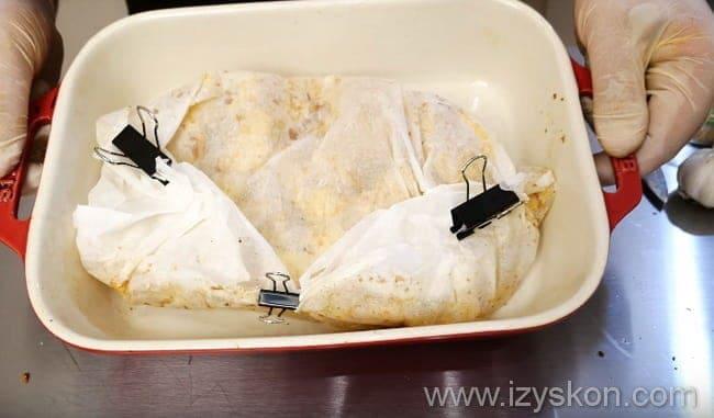 Готовим сочную курицу с картошкой в фольге запеченную в духовке
