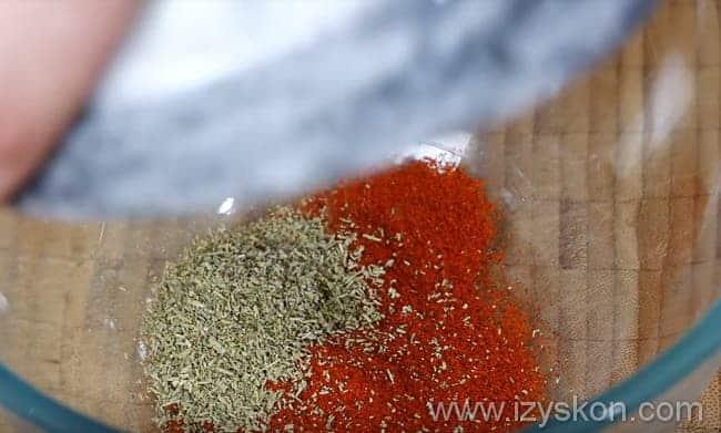 розмарин добавляем к паприке
