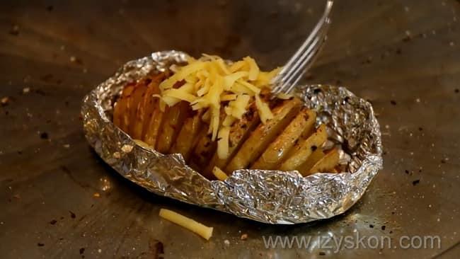 Как готовится жареная картошка в духовке, лучший рецепт