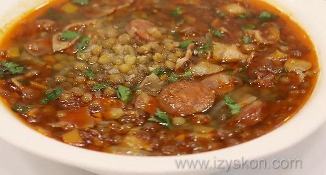 Смотрите как приготовить суп из чечевицы рецепты просто и вкусно