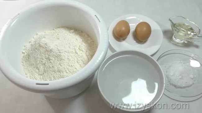 Как приготовить заварное тесто для мантов, простой рецепт