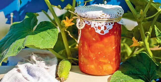 Как приготовить лечо из огурцов на зиму по пошаговому рецепту с фото