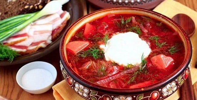 украинский борщ рецепт с пошаговым