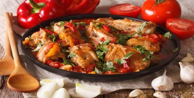 Как приготовить чахохбили из курицы по-грузински по классическому пошаговому рецепту с фото