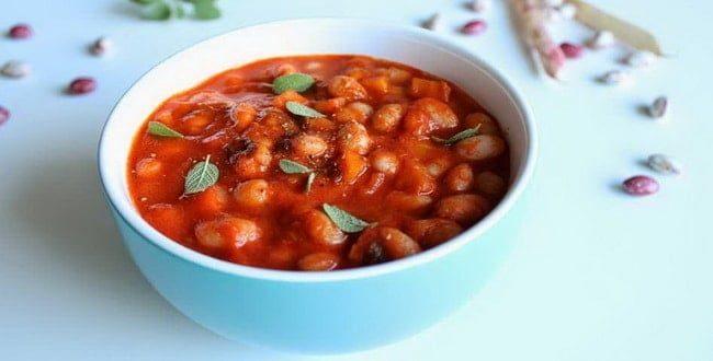 Как приготовить фасоль в томатном соусе на зиму по пошаговому рецепту с фото