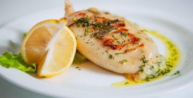 Как приготовить фаршированные кальмары по пошаговому рецепту с фото