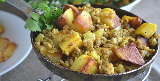 Как приготовить картошку с фаршем по пошаговому рецепту с фото