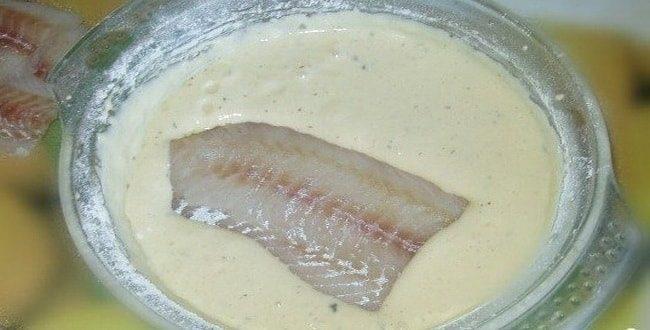Попробуйте приготовить кляр для рыбы, простой рецепт
