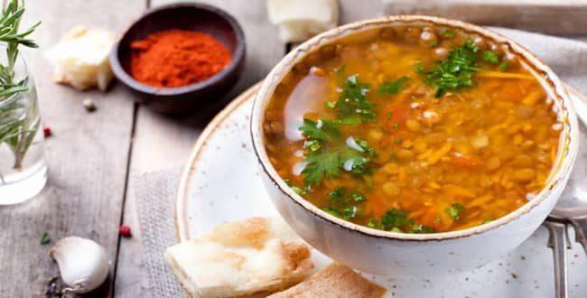 чечевичный суп рецепт с рыбными консервами