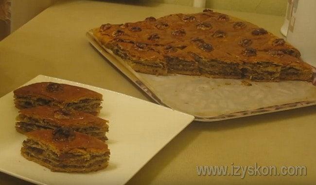 Попробуйте приготовить армянскую пахлаву по нашему рецепту в домашних условиях!