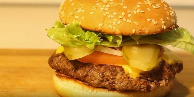 Рецепт приготовления бургера с пошаговым фото