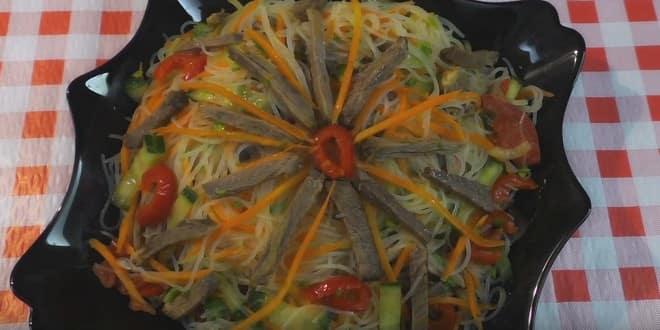 Готовим оригинальный салат по рецепту с пошаговыми фото: фурчоза по-корейски!