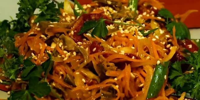 Рецепт приготовления куриных желудков по-корейски