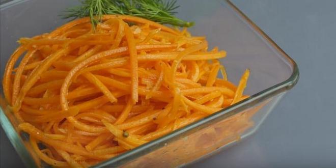 Как приготовить морковь по-корейски в домашних условиях по рецепту с фото
